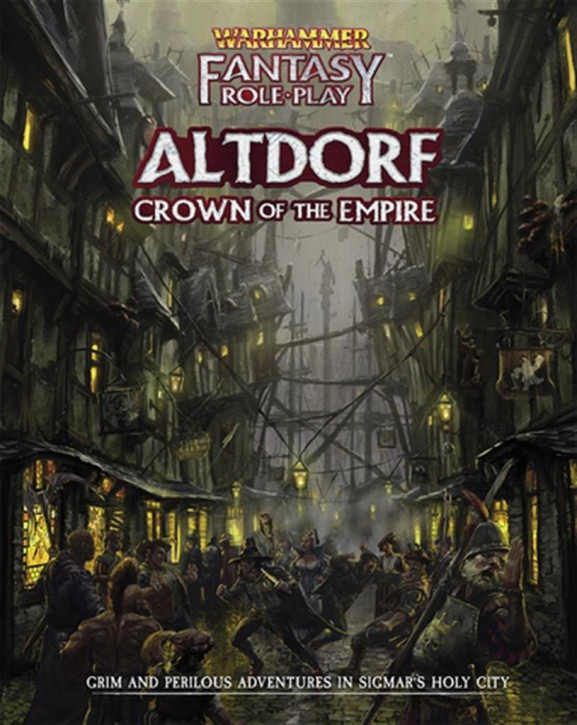 WFRP 4TH: Altdorf: Crown of the Empire - EN