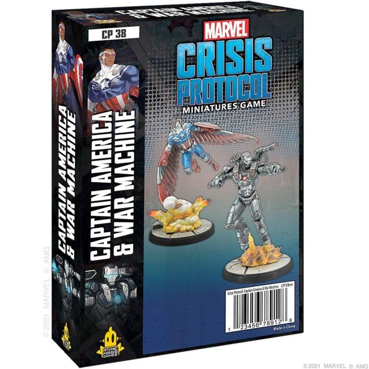 MARVEL CRISIS: Captain America & War Machine - EN