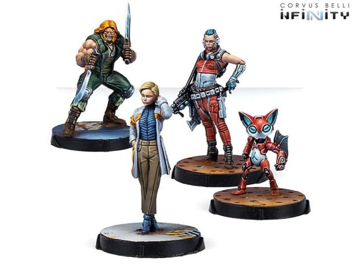 INFINITY: Dire Foes Mission Pack Gamma: Xanadu Rush