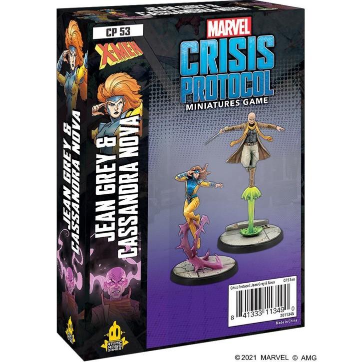 MARVEL CRISIS: Jean Grey & Cassandra Nova - EN