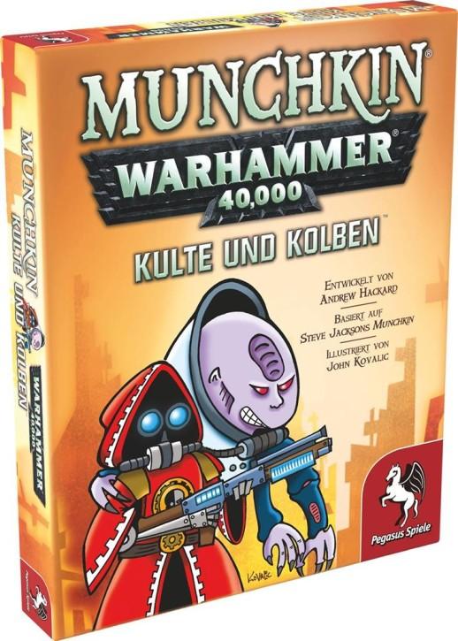 MUNCHKIN: Warhammer 40k: Kulte und Kolben - DE