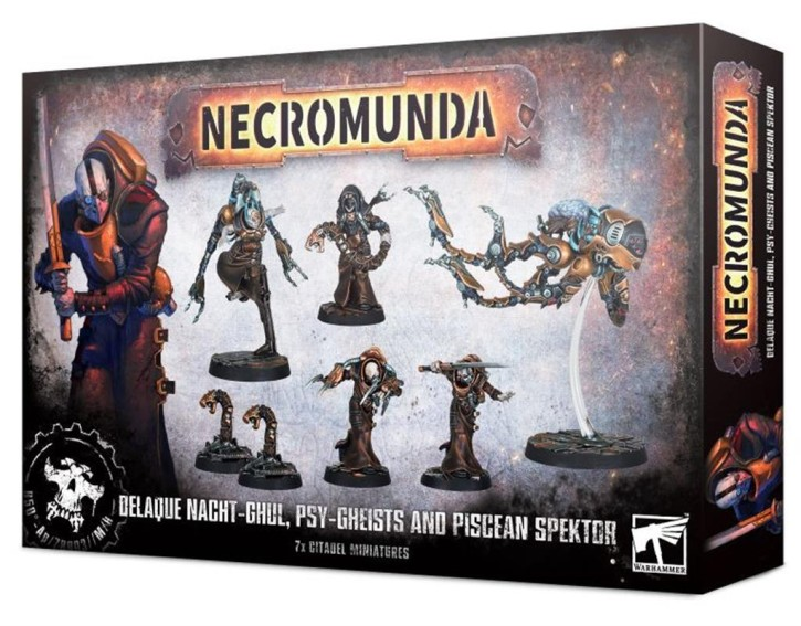 NECROMUNDA: Delaque Nacht-Ghul And Psy-Gheists