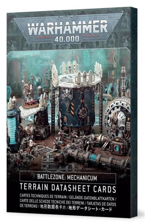 W40K: Battlezone Mechanicum: Terrain Cards - EN