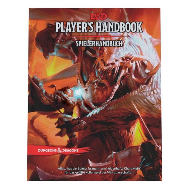 D&D RPG: Spielerhandbuch - DE