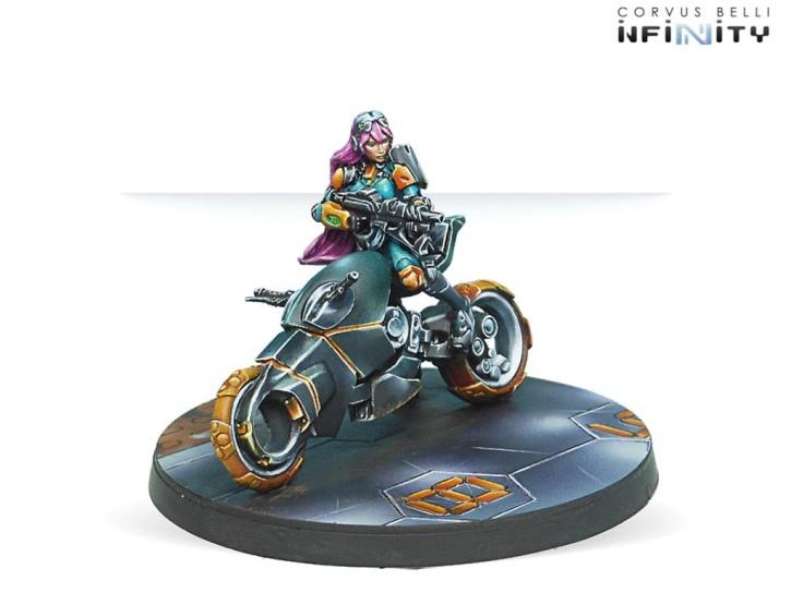 INFINITY: Motorized Bounty Hunters