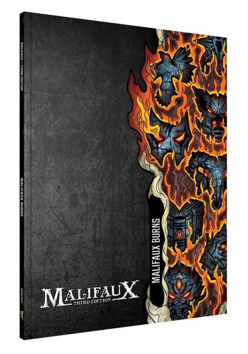 MALIFAUX 3RD: Burns Expansion Book - EN