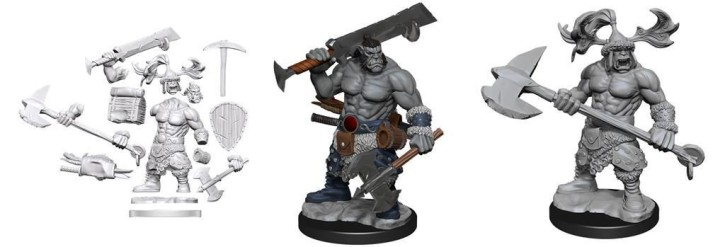 D&D FRAMEWORKS: Orc Barbarian Male