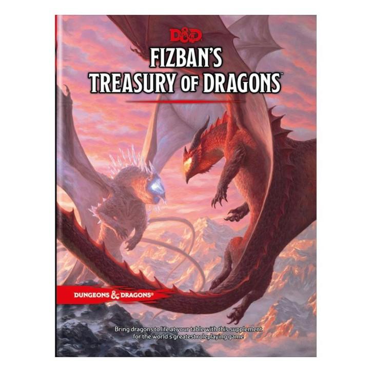 D&D RPG: Fizbans Treasury of Dragons - EN