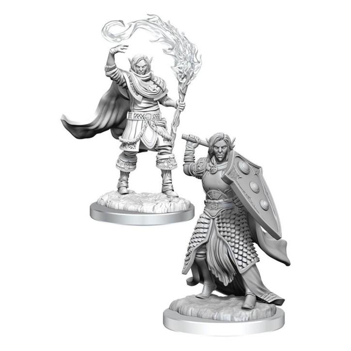 D&D MARVELOUS MINIS: Elf Cleric Male