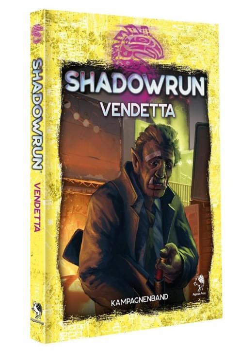 SHADOWRUN 6: Vendetta (Hardcover) - DE