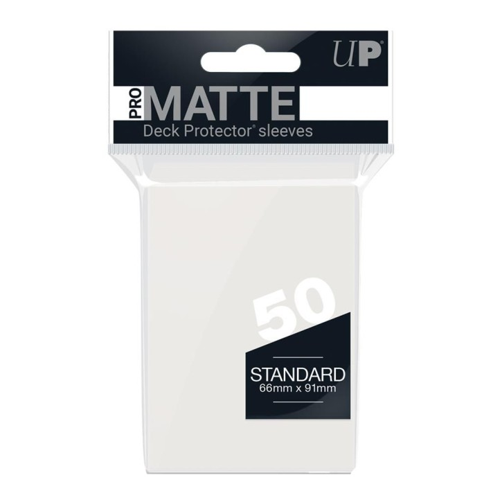 ULTRA PRO: Sleeves Standard - Non Glare Clear (50)