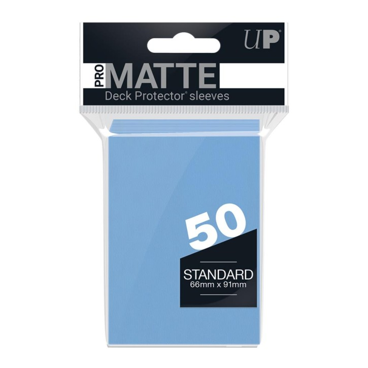 ULTRA PRO: Sleeves Standard - Non Glare Light Blue - (50)