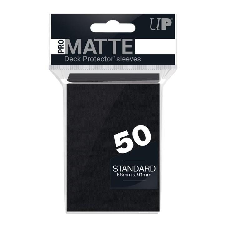 ULTRA PRO: Sleeves Standard - Non Glare Black (50)