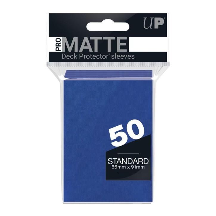 ULTRA PRO: Sleeves Standard - Non Glare Blue (50)