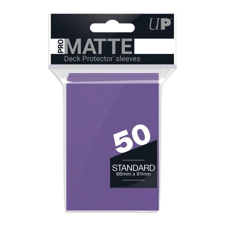 ULTRA PRO: Sleeves Standard - Non Glare Purple (50)