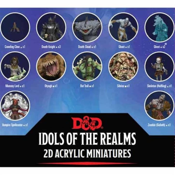 D&D ESSENTIALS 2D MINIS: Boneyard: Set 1