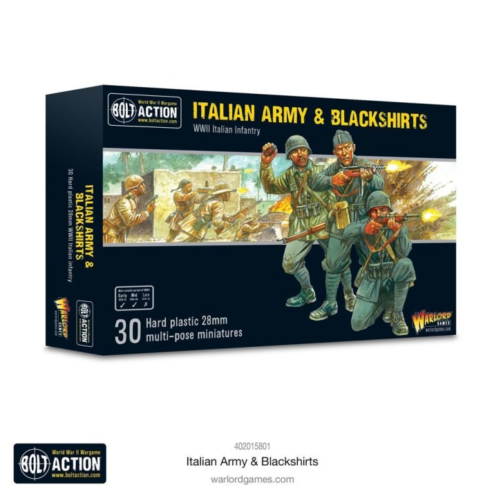 BOLT ACTION: Italian Army & Blackshirts
