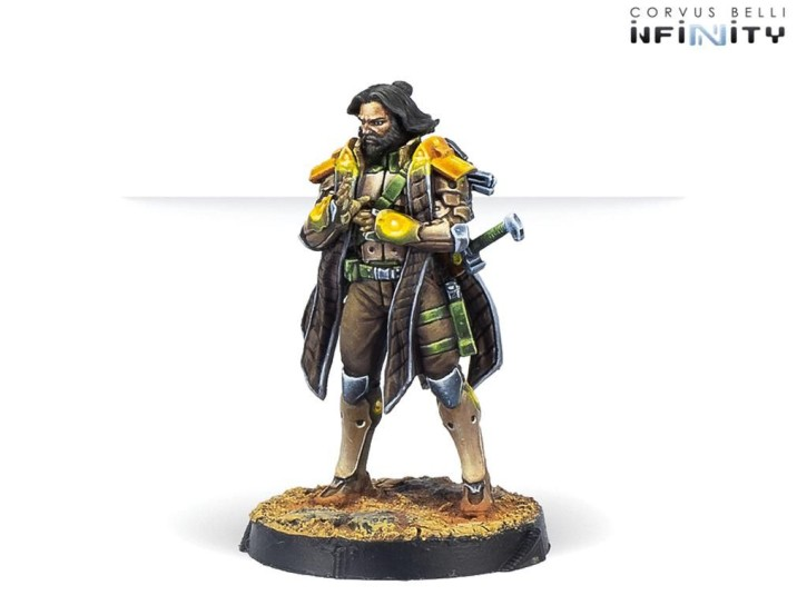 INFINITY: Saladin, O-12 Liaison Officer (Combi Rifle)
