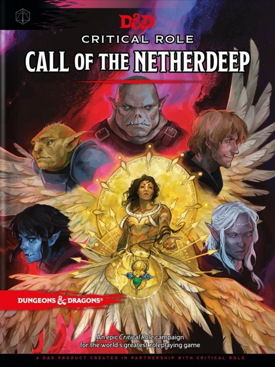 D&D RPG: Call of the Netherdeep (Critcal Role) - EN