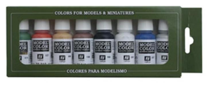 Vallejo Model Color: Wargames Basics - 8 Colours