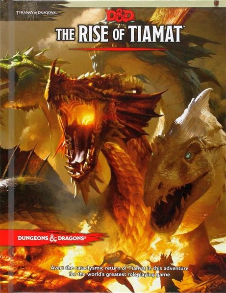 D&D RPG: Tyranny of Dragons: The Rise of Tiamat - EN