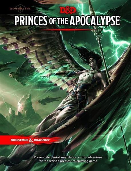 D&D RPG: Elemental Evil: Princes of the Apocalypse Adv. - EN