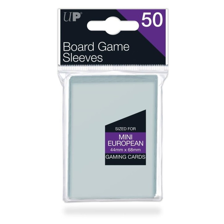 ULTRAPRO: Board Game Sleeves - Euro Mini Size 44x68mm