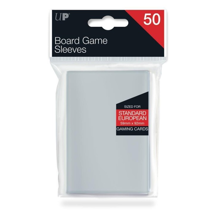 ULTRAPRO: Board Game Sleeves - Euro Standard 59x92mm