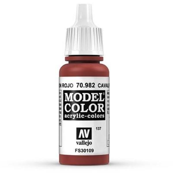 Vallejo Model Color: 137 Oxidrot 17ml (70982)