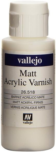 Vallejo Model Color: Mattlack 60ml (26518)
