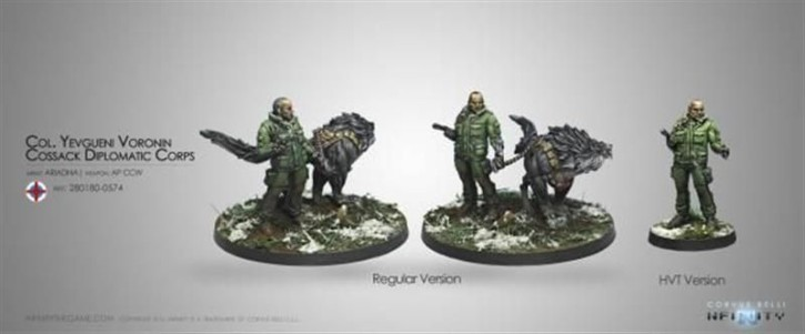 INFINITY: Col. Yevgueni Voronin, Cossack Diplomatic Corps