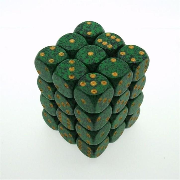 CHESSEX: Speckled Golden Recon 36 x 6 seitige Würfel
