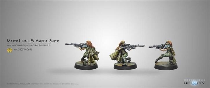 INFINITY: Major Lunah, Ex-Aristeia! Sniper (Viral Sniper R.)