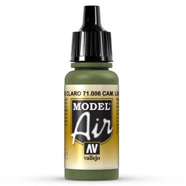 Vallejo Model Air: 006 Light Green Chrm. 17 ml (71006)