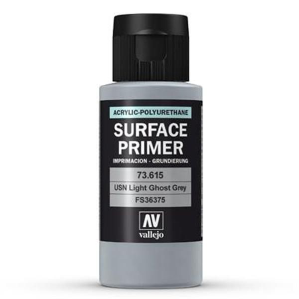Vallejo Surface Primer: USN Light Ghost Grey (60ml)