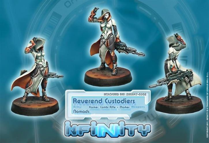 INFINITY: Reverend Custodiers (Hacker, Combi Rifle + Marker)