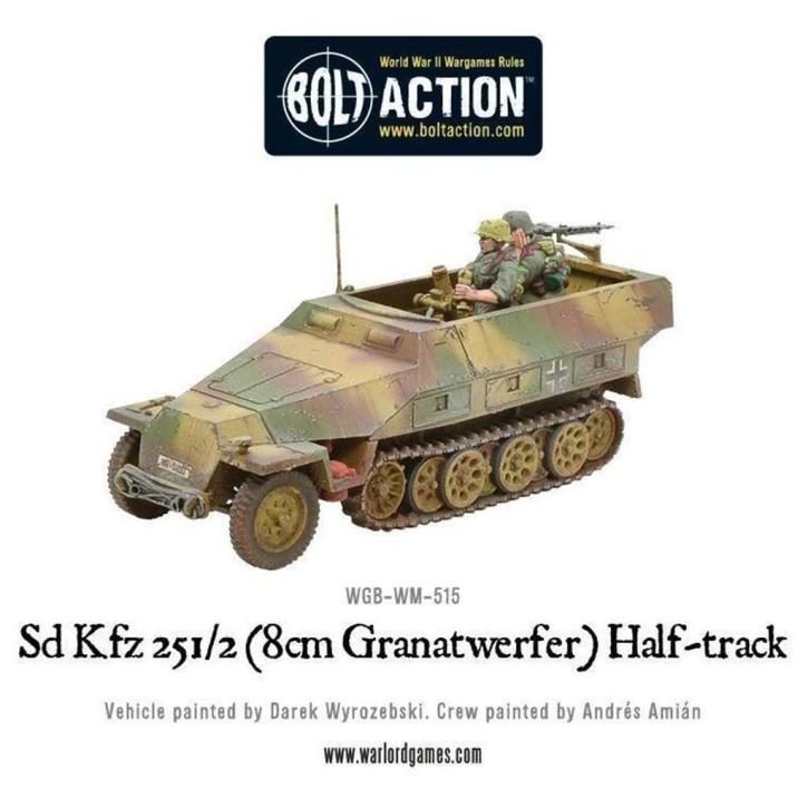 BOLT ACTION: Sd.Kfz 251/2 Ausf D (8cm Granatwerfer) Half T.