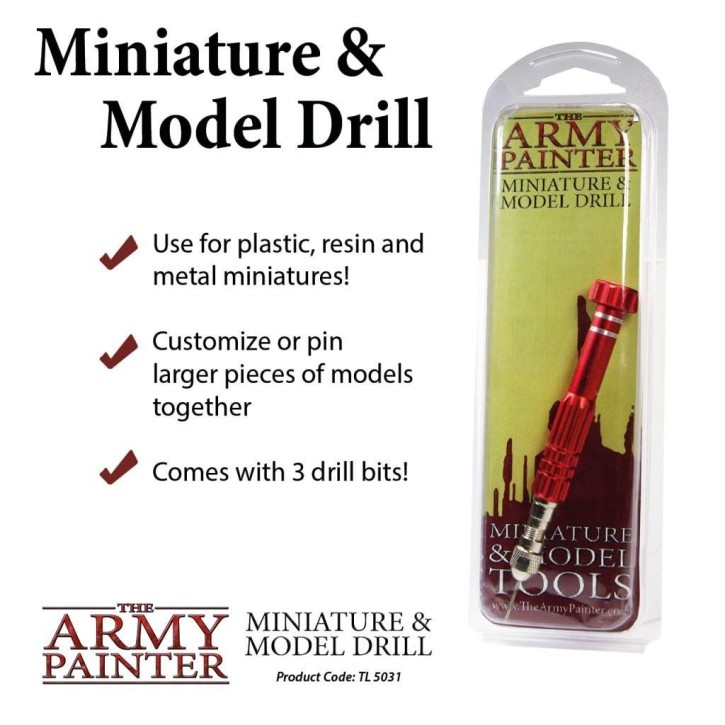 ARMY PAINTER: Miniature and Modell Drill