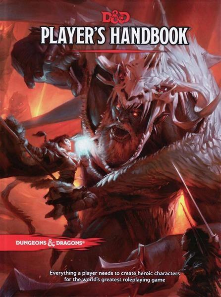 D&D RPG: Players Handbook - EN