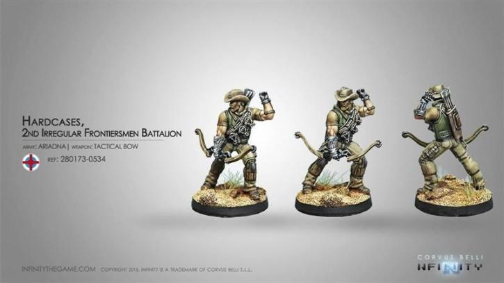 INFINITY: Hardcases, 2nd Irregular Frontiersmen Battalion