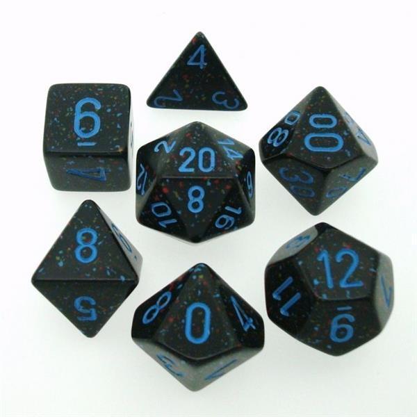 "CHESSEX: Speckled ""Blue Stars"" 7-Die RPG Set"