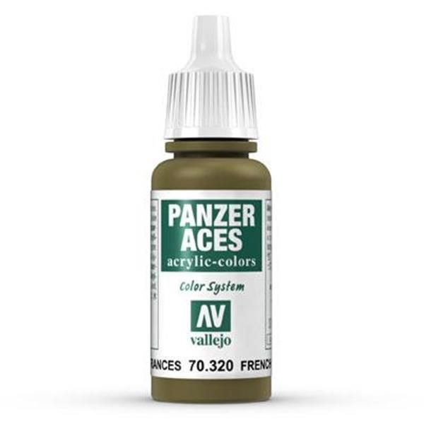 Vallejo Panzer Aces: 020 French Tankcrew 17ml (320)