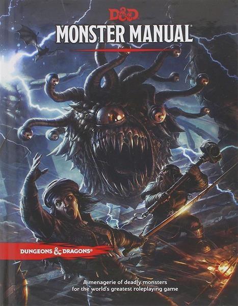 D&D RPG: Monster Manual - EN