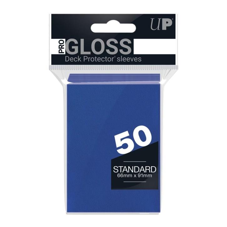 ULTRA PRO: Sleeves Standard - Gloss Blue (50)
