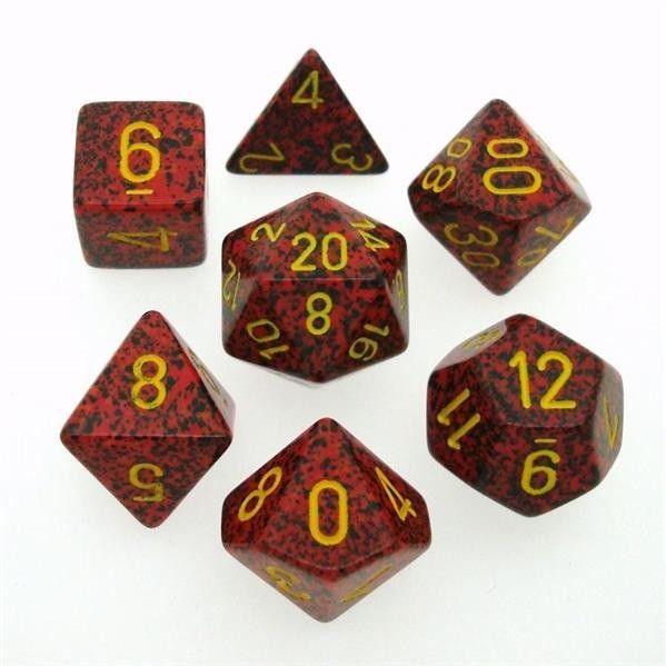 "CHESSEX: Speckled ""Mercury"" 7-Die RPG Set"