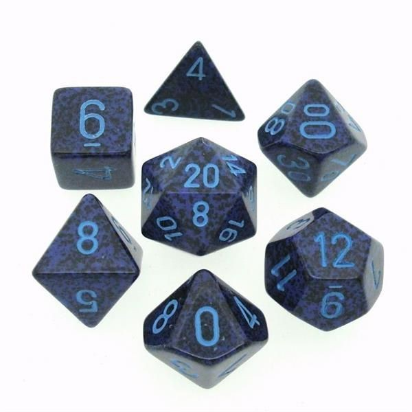 "CHESSEX: Speckled ""Cobalt"" 7-Die RPG Set"