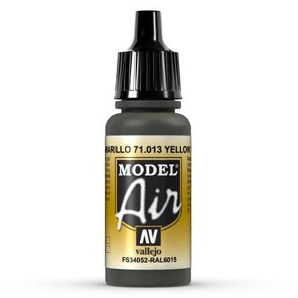 Vallejo Model Air: 013 Yellow Olive 17ml (71013)