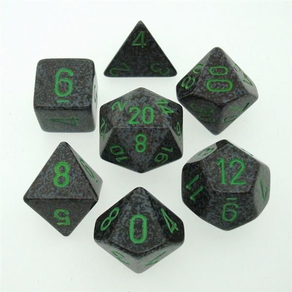 "CHESSEX: Speckled ""Earth"" 7-Würfel RPG Set"