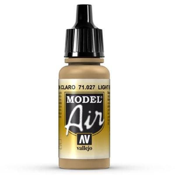 Vallejo Model Air: 027 Light Brown 17ml (71027)