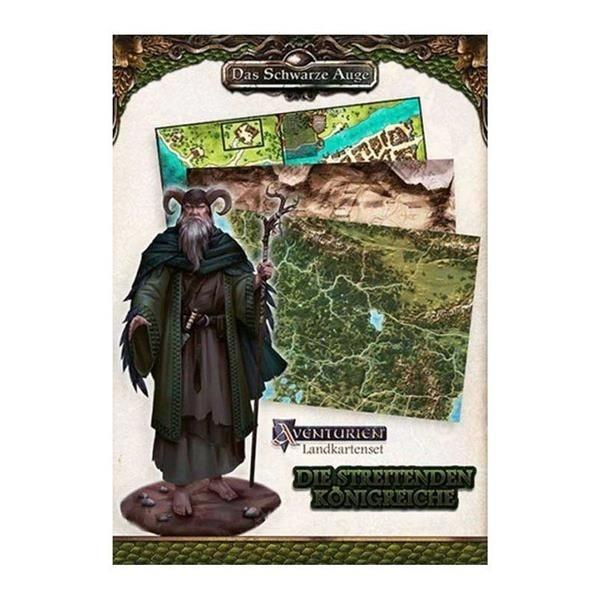 DSA: Landkartenset Die Streitenden Königreiche - DE